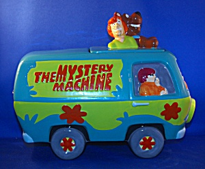 SCOOBY DOO MYSTERY MACHINE COOKIE JAR (Image1)