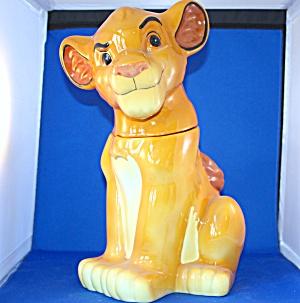 SIMBA LION KING COOKIE JAR (Image1)