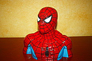 Spiderman Cookie Jar.