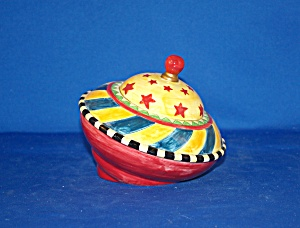 Spinning Top Cookie Jar