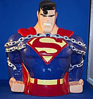 Superman In Chains Cookie Jar