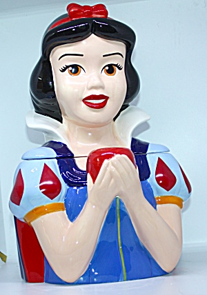 Snow White With Apple Cookie Jar