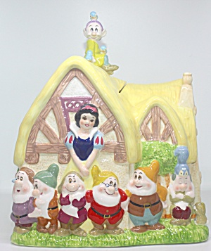 Snow White And The Seven Dwarfs Cookie Jar