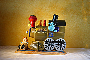 Snidely Whiplash & Neil Cookie Jar