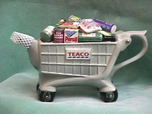 Shopping Trolley Teapot Limited Edition