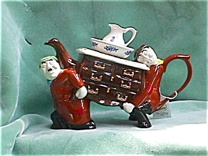 Removal Men Teapot