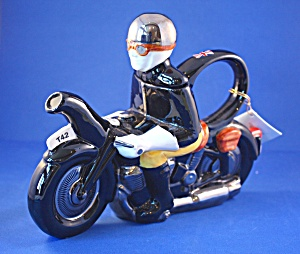 Tony Carter Motor Bike Teapot
