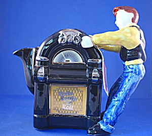 TONY CARTER JUKEBOX TEAPOT (Image1)