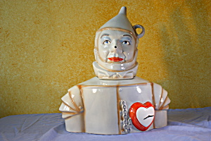 Tin Man Cookie Jar