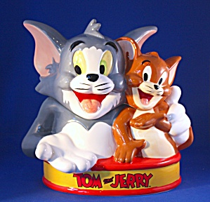 Tom & Jerry Cookie Jar