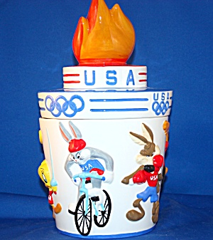 Warner Brothers Olympic Cookie Jar