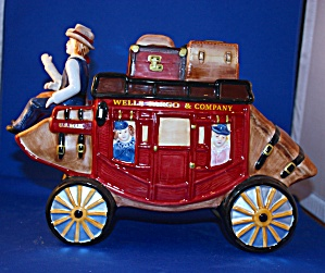 WELLS FARGO STAGE COACH COOKIE JAR (Image1)
