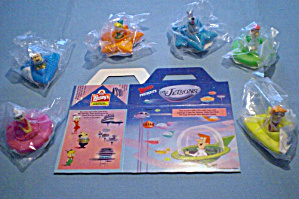 Wendys 1989 Jetsons Space Vehicles Set Of 6 M