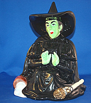 Wicked Witch Melting Cookie Jar