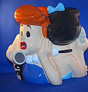 WILMA & BETTY COOKIE JAR (Image1)