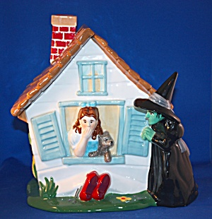 WICKED WITCH & DOROTHY COOKIE JAR (Image1)