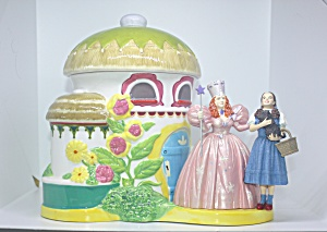 Wizard Of Oz Munchkin Land Le Cookie Jar