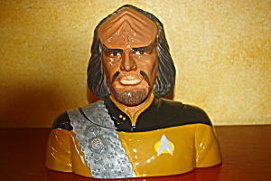 Worf Cookie Jar