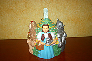 Wizard Of Oz Four Character Cookie Jar
