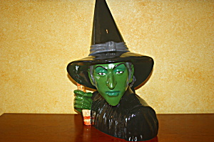 Wicked Witch Cookie Jar