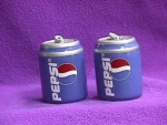 Click here to enlarge image and see more about item ASP001: PEPSI CANS SALT & PEPPER