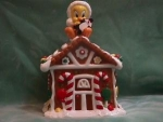 TWEETY GINGERBREAD HOUSE COOKIE JAR