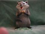 Click here to enlarge image and see more about item CJD011: MEEKO FROM POCOHONTAS COOKIE JAR