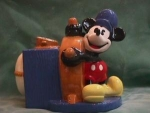 Click to view larger image of STEAMBOAT WILLIE LIMITED EDITION COOKIE JAR (Image1)