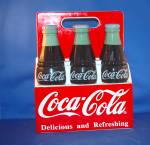 Click to view larger image of COKE SIX PACK COOKIE JAR (Image1)