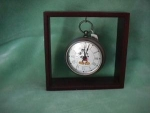 Click here to enlarge image and see more about item CW001: MICKEY POCKET WATCH CLOCK