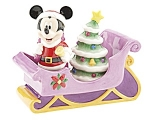 Click here to enlarge image and see more about item D507:  DISNEY MICKEY MOUSE Holiday LE 250 S&P Set