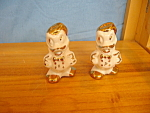 DONALD LEEDS CHINA SALT & PEPPER