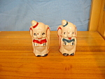 Click here to enlarge image and see more about item DS1006: DUMBO LEEDS CHINA SALT & PEPPER