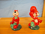 Click here to enlarge image and see more about item DS1007: CHIP & DALE LIMITED EDITION SALT & PEPPER