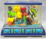 RARE  Finding Nemo ;Fishtank Musical Snow