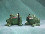 Click here to enlarge image and see more about item FSP029: CELL FROGS SALT & PEPPER