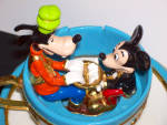 Click to view larger image of MICKEY & GOOFY IN TEA CUP RIDE BY RON LEE (Image2)