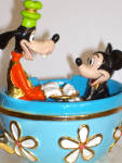 Click to view larger image of MICKEY & GOOFY IN TEA CUP RIDE BY RON LEE (Image4)