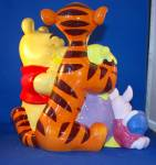 Click to view larger image of  POOH & PALS COOKIE JAR. (Image3)