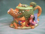 Click to view larger image of POOH TREEHOUSE TEAPOT (Image1)