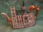 NORTRE DAME TEAPOT from FITZ & FLOYED