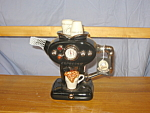 ESPRESSO MACHINE BLACK TEAPOT