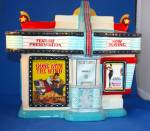 Click here to enlarge image and see more about item THERCJ1: THEATER MARQUE COOKIE JAR