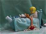 Click to view larger image of TWEETY IN BED TEAPOT (Image1)