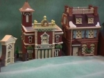 Click here to enlarge image and see more about item XMAS007: DEPT 56 DISNEY PARKS VILLAGE SERIES