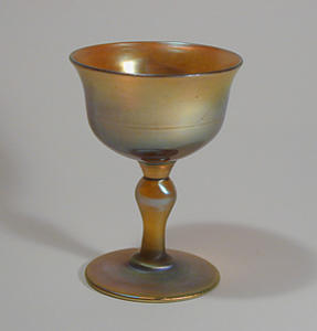 Tiffany Studios Gold Stem Glass, Favrile (Image1)