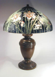 Click here to enlarge image and see more about item 2: Handel 18 inch Daffodil Lamp, #7122