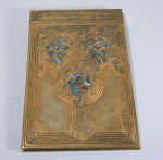 Click here to enlarge image and see more about item AbaloneNote: Tiffany Sutdios Abalone Note Pad