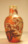 Click here to enlarge image and see more about item devezamber: De Vez Cameo Vase