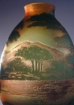 Click here to enlarge image and see more about item DeVezScenic2: DeVez Cameo Scenic Vase